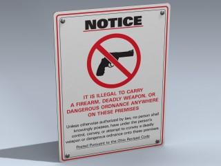 Sign (No Guns Ohio)