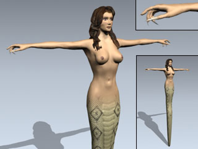 Mythical Snakewoman