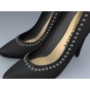 Shoe (Studded High Heel Pump)