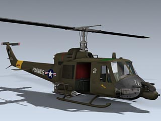 UH-1C Huey Hog