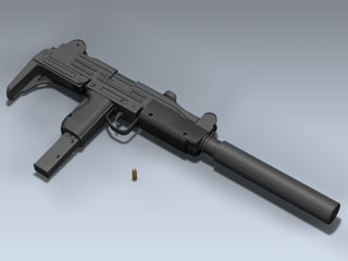 UZI with Mk 9 Silencer